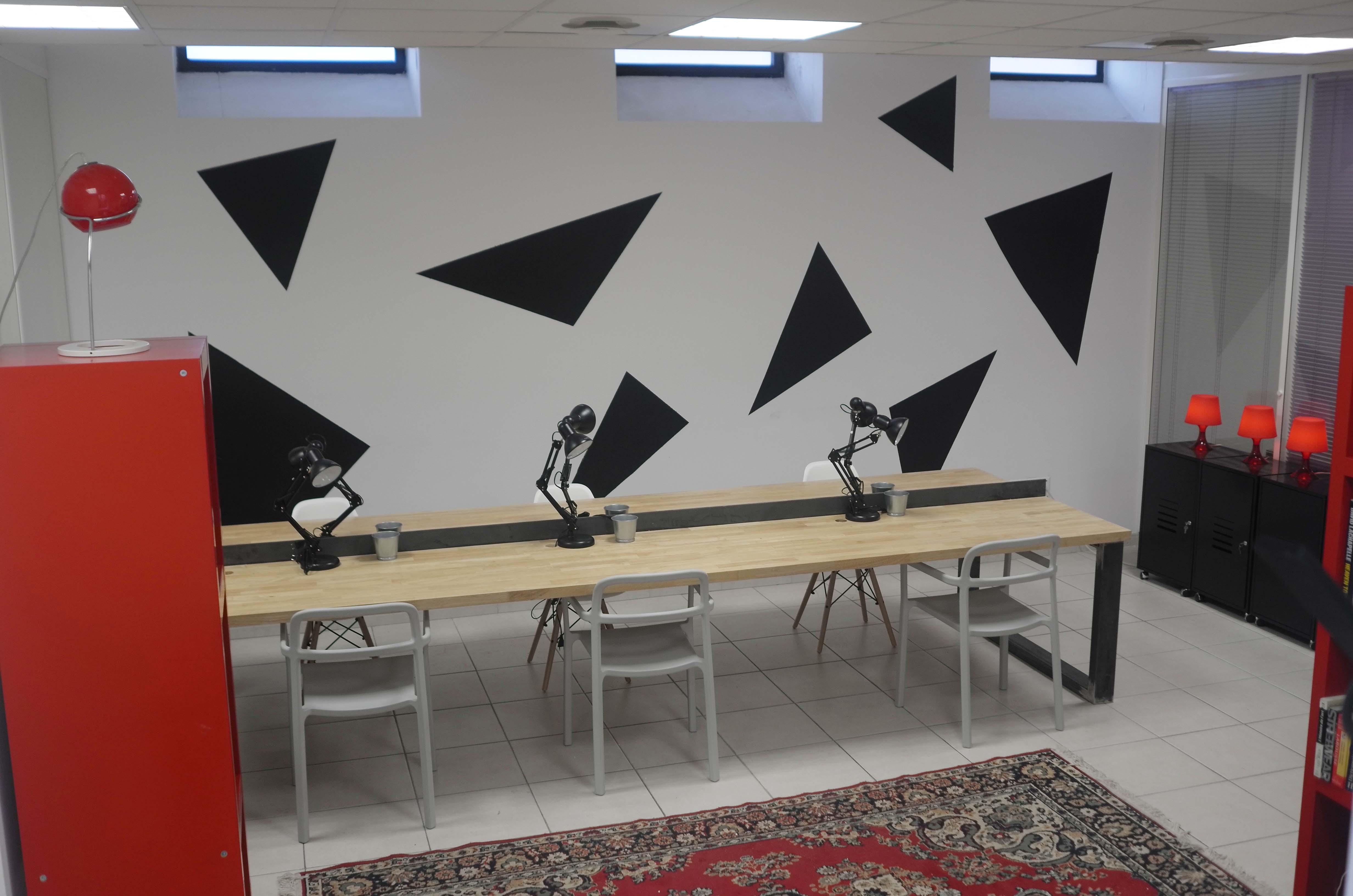 Bureau privatif salle de réunion ou espace partagé à montpellier