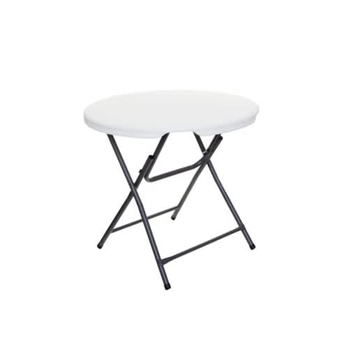 Captivating Small Round Plastic Folding Table