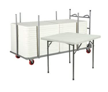 Bundle of Square Folding Tables
