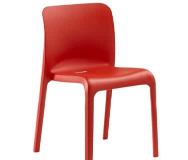 Pop One Piece Plastic Chair