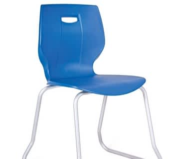 GEO Skid Base Plastic Chair