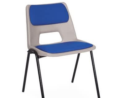 ADV Padded Stacking Chair