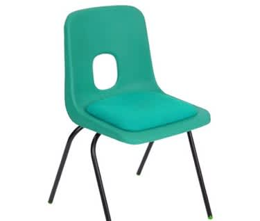 Series E Padded Stacking Chair by Hille