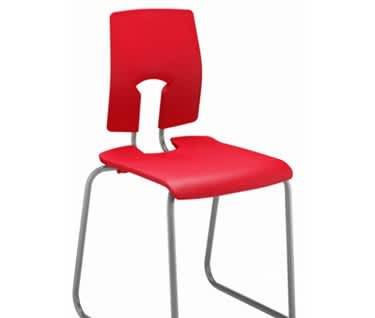 SE Skid Base Chair by Hille