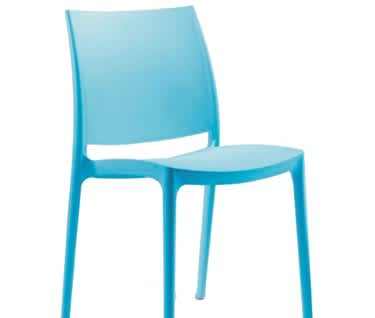 Zala Plastic Cafe Chair
