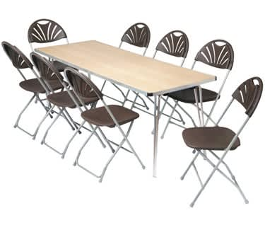 Contour Plus Folding Table