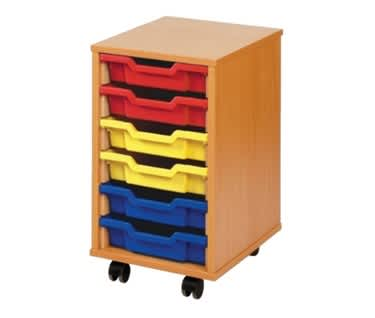 Shallow Tray Storage Unit