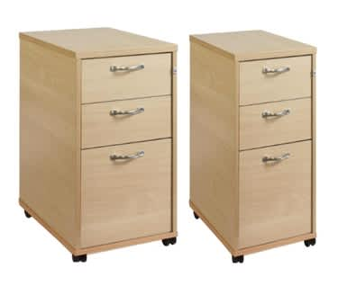Slim Line & Tall Mobile Pedestals NEW