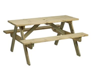 Como Picnic Table and Bench