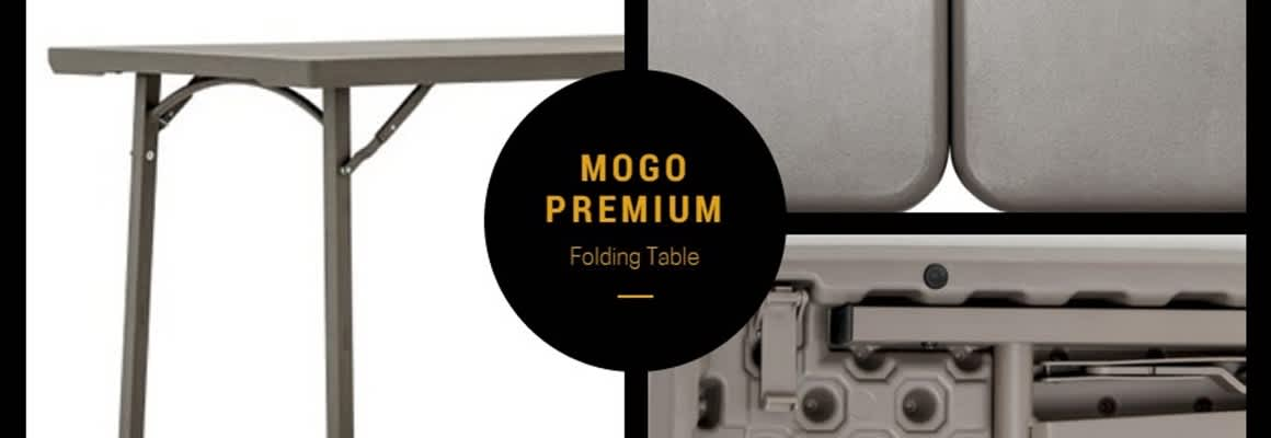 Mogo Premium Folding Table - Our Best Folding Table Yet?