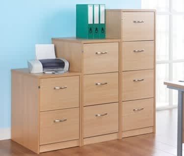 Deluxe Executive Filing Cabinets NEW