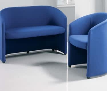 Slender Upholstered
