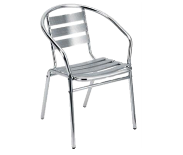 Milano Metal Bistro Chair