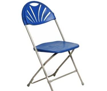 Basic Fan Back Folding Chair