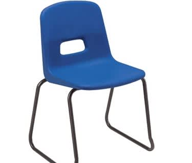 Remploy GH Skidbase Chair Upholstered