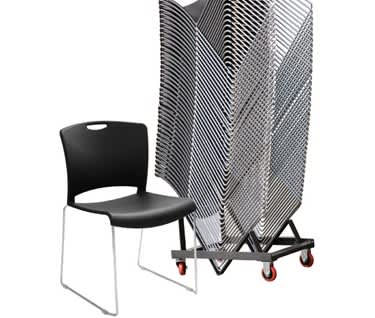 Jasper 40 Chair  & Trolley Bundle