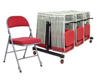 Comfort Deluxe 30 Folding Chair Bundle