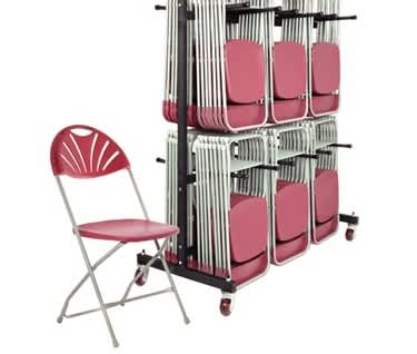 Classic Plus 168 Folding Chair Bundle