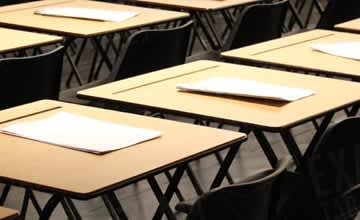 Folding Exam Desks & Chairs for Exam Season