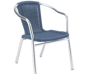 Milano Wicker Café Chair