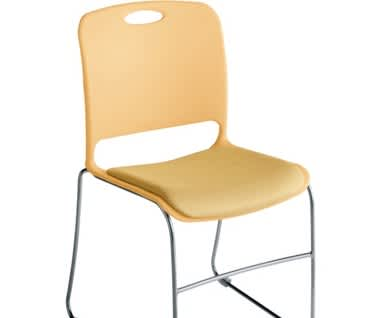 Maestro Upholstered Stacking Chair
