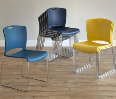 Jasper Contemporary Stacking Chair