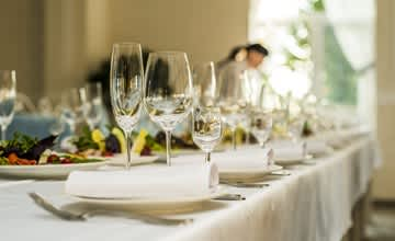 The Christmas countdown is on - banqueting chairs and tables for festive events