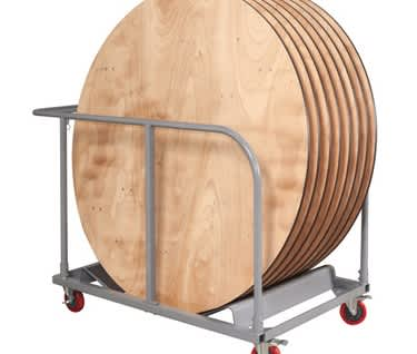 Mogo Round Table Trolley