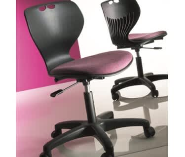 Mata Swivel Chair Upholstered