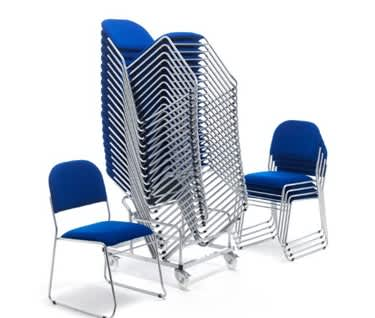 Urban Padded Stacking Chair