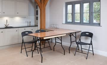 Plywood Folding Trestle Tables: The Versatile Choice for Hospitality