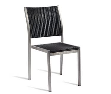 Monda All Weather Weave and Aluminium Side Chair
