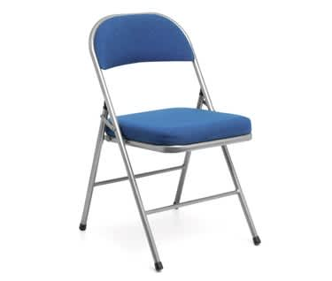 Comfort Deluxe Padded Folding Chair