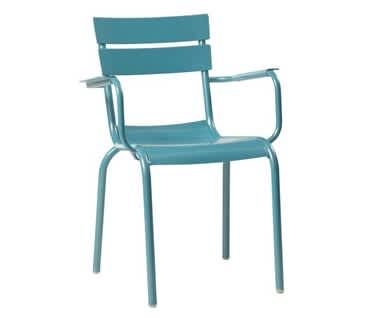 Ibiza Aluminium Outdoor Arm Chair