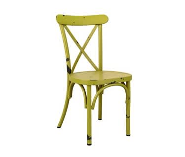 Mallorca Vintage Cross Back Dining Chair