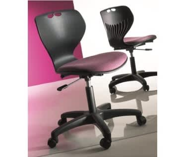 Mata Upholstered Swivel Chair