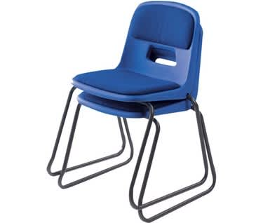 Remploy GH20 Padded Skid Base Chair