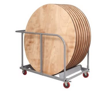 Mogo Round Table Trolley