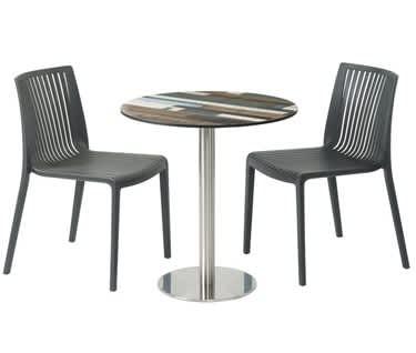 Carmona Driftwood Café Table