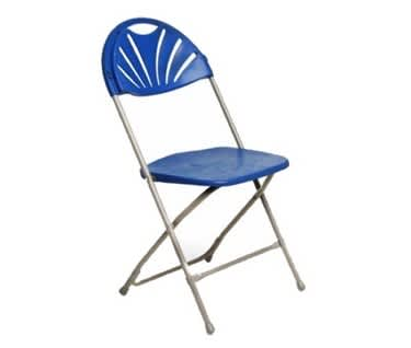 Basic Fan Back Folding Chair
