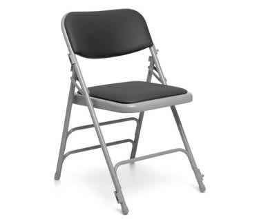 Comfort Vinyl Folding Chair