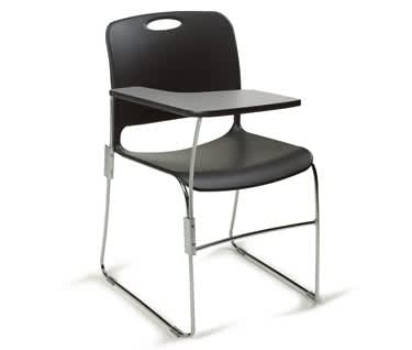 Maestro Contemporary Chair with Writing Tablet