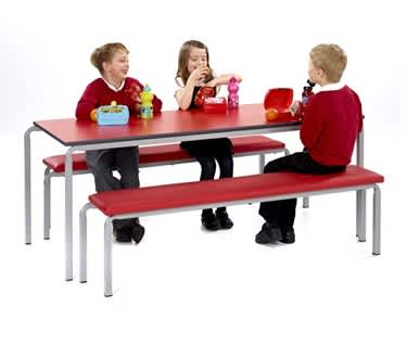 Gala Table and Bench Dining Set