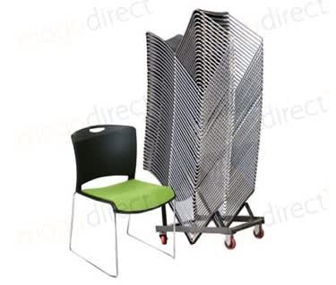 Jasper 10 Padded Stacking Chair Bundle