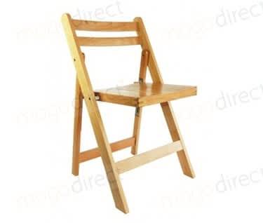 Skara Wooden Folding Chair