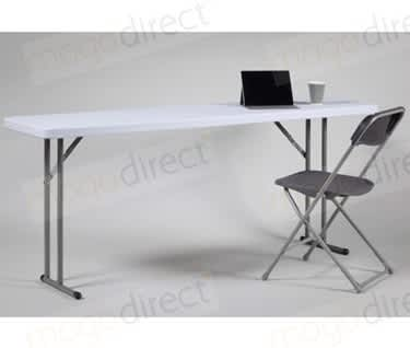 Mogo Slim Folding Conference MeetingTable | L1830 x W450mm x H740mm