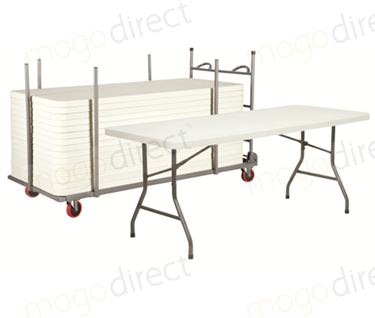 Mogo Large Rectangular Folding Table Bundles