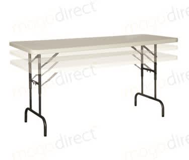 Mogo Height Adjustable Folding Table