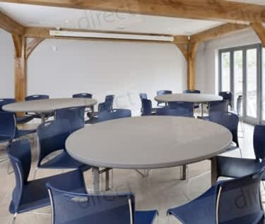 Premium Round Folding  Banqueting  & Meeting Table | Dia. 1530mm | 5ft