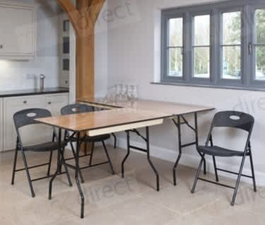 Mogo Rectangular Wooden Trestle Table | 1830mm x 920mm (6' x 3')
